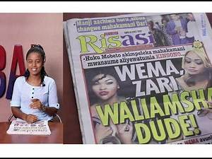 MAGAZETI: Kisa Diamond Familia ya Mobeto Yavuna Mamilioni,Wema, Zari Kimenuka!