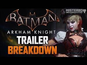 Batman Arkham Knight: Official Announcement Trailer 'Father to Son' Breakdown / Analysis