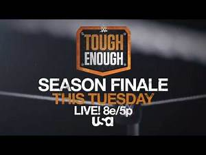 Who will earn a WWE contract on Tuesday's Tough Enough finale?