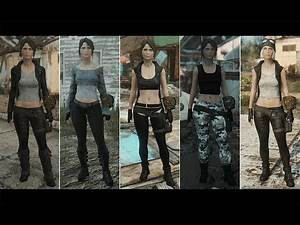 Fallout 4 - New Outfits Mod: Girls Workshop