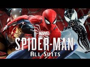 All Spider-Man Suits (PS4)