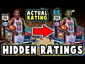 NBA 2K17 HIDDEN PLAYER RATINGS!! #5 | 99 Overall PINK DIAMOND Dream Team Card???