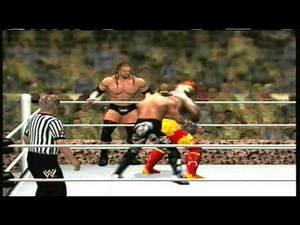 Hulk Hogan and John Cena vs Triple H and Shawn Michaels