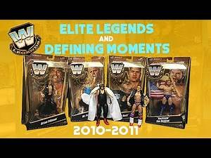 History of Mattel's WWE Elite Legends & Defining Moments Lines (2010-2011)