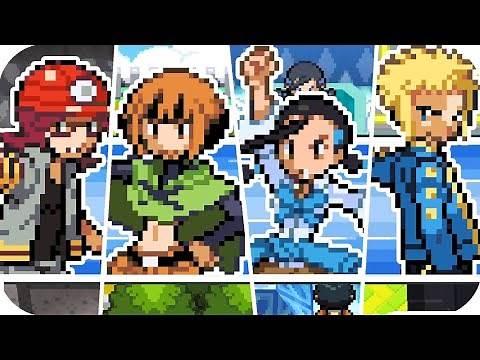 Pokémon Diamond & Pearl - All Gym Leader Battles (1080p60)