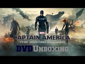 Captain America The Winter Soldier DVD Unboxing