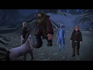 [Harry Potter Hogwarts Mystery] MEETING HAGRID AND TORVUS IN THE FORBIDDEN FOREST (3/7)