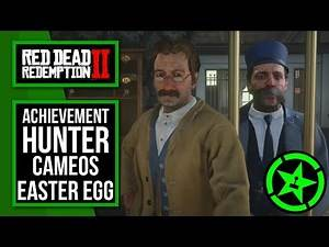 Red Dead Redemption 2 | Achievement Hunter Easter Eggs