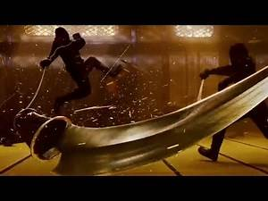 Ninja Assassin movie fight(Pirates of the caribbean, Assassin creed black flag theme music)
