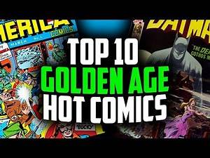 Top 10 ALL TIME Most Expensive GOLD Comic Books - Overstreet 48th Edition 2018