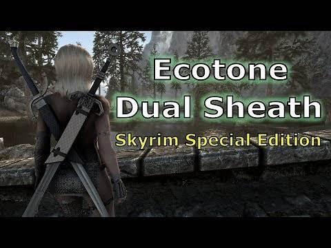 Skyrim SE: Freya's Story - Ecotone Dual Sheath - SKSE64 2.0.12 ( switch to 2.0.15 version )