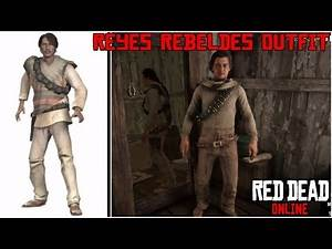 Reyes Rebeldes Outfit Tutorial | Red Dead Online