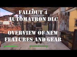 Fallout 4 Automatron DLC overview of robot workshop, new weapons and armor.
