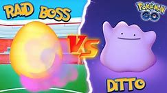 WHAT HAPPENS IF YOU USE A DITTO AGAINST A RAID BOSS IN POKEMON GO?