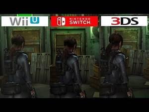 Resident Evil Revelations | Switch vs WiiU vs 3DS | Graphics Comparison