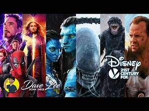 Disney's Fox Movie Plans Revealed & Explained - X-Men, Deadpool, Alien, Avatar, Planet of the Apes