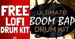 FREE Lofi Drum Kit Sample Pack FREE Download | Boom Bap Drums