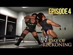 WWE Day of Reckoning: Story Mode - 4 (MAN-BEAST vs THONGMAN)