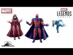 X-Men Marvel Legends Magneto, Quicksilver and Scarlet Witch 3-Pack Video Review