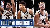 PACERS at NETS | FULL GAME HIGHLIGHTS | October 30, 2019