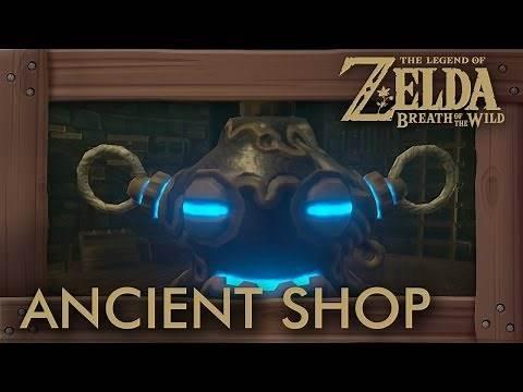 Zelda Breath of the Wild - How to Unlock Ancient Shop & Get Ancient Armor Set