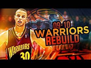 NBA 2K17 MY LEAGUE: REBUILDING THE '09-'10 WARRIORS!! STEPH CURRY TRADE?