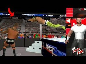 WWE 2K19 ANDROID - RAW SMACKDOWN LIVE TOP10 MOMENTS WWE2K19/SVR11