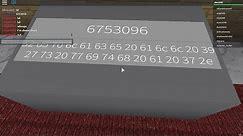 Roblox Identity Fraud Radio Morse And Hex(CHECK DESC)