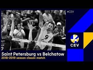 Zenit SAINT PETERSBURG vs PGE Skra BELCHATOW FULL MATCH - 2019 #CLVolleyM Quarter-Finals