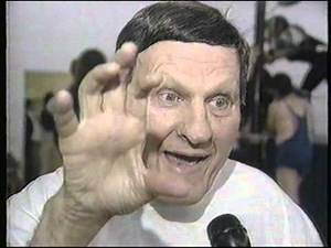 Mike Adams at the Killer Kowalski Institute School Of Professional Wrestling in Malden Massachusetts