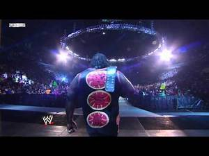 Friday Night SmackDown - Mark Henry and Big Show meet since Vengeance