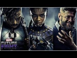 Best Black Panther Character (Shuri, Ulysses, Killmonger) - Marvel Future Fight