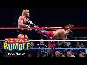 FULL MATCH - Sycho Sid vs. Shawn Michaels – WWE Title Match: Royal Rumble 1997