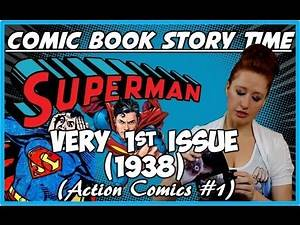 Superman's 1st issue (1938): Comic Book Story Time