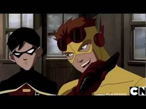 Young Justice - Call Me Maybe (Robin/KF)