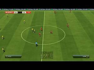 Round W2 (Match 1): Dortmund vs Bayern Munich - Virtual UEFA Cup (FIFA 14)