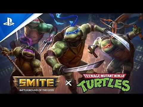 SMITE - Teenage Mutant Ninja Turtle Announcement Trailer | PS4