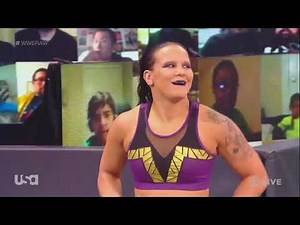 WWE RAW Legends Night 04/01/21: Mandy Rose vs. Shayna Baszler ft. Dana Brooke