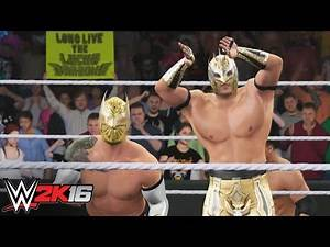 The Lucha Dragons are makin' moves: WWE 2K16 Entrance Mashup