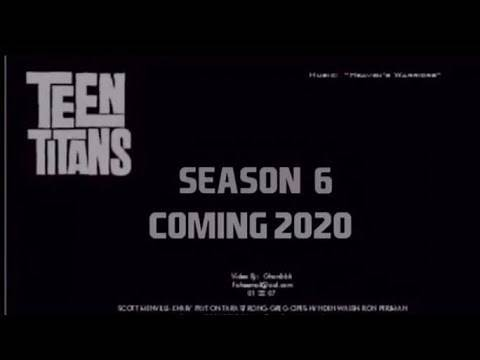 TEEN TITANS SEASON 6 TRAILER | COMING OUT IN 2020