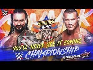 SummerSlam 2020 WWE 2K19 Full Card Playthrough