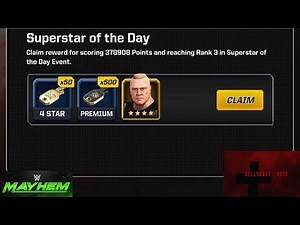 WWE Mayhem - HollywoodShono Unlocks 4 Star Brock Lesnar from Versus