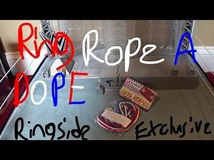 The Ringside Collectibles Exclusive:Ring Ropes (Red,White & Blue) For The WWE Authentic Scale Ring