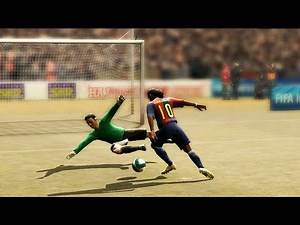 Dribbling The Goalkeeper From FIFA 94 to 21
