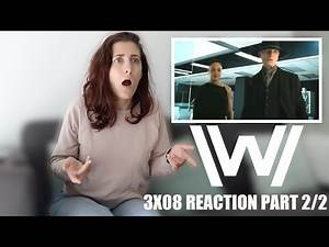 """WESTWORLD 3X08 """"CRISIS THEORY"""" REACTION PART 2/2"""