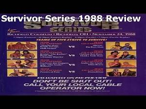 WWF Survivor Series 1988 Review