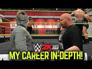 WWE 2K16 My Career Mode - In-Depth Breakdown & Features!