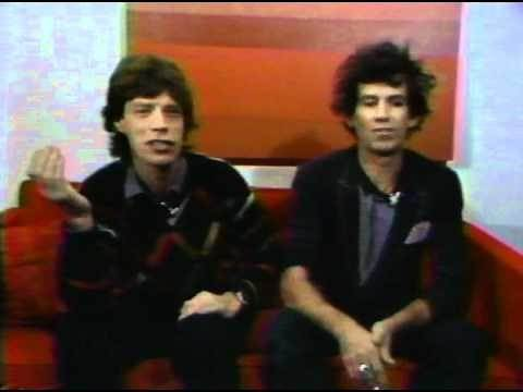Mick Jagger & Keith Richards 1983 Interview