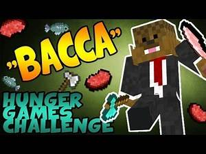 "Minecraft Hunger Games Challenge ""BACCA"" Inspired by JeromeASF"