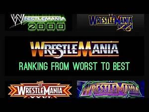 Ranking Every Wrestlemania Part 2 - Average/Good